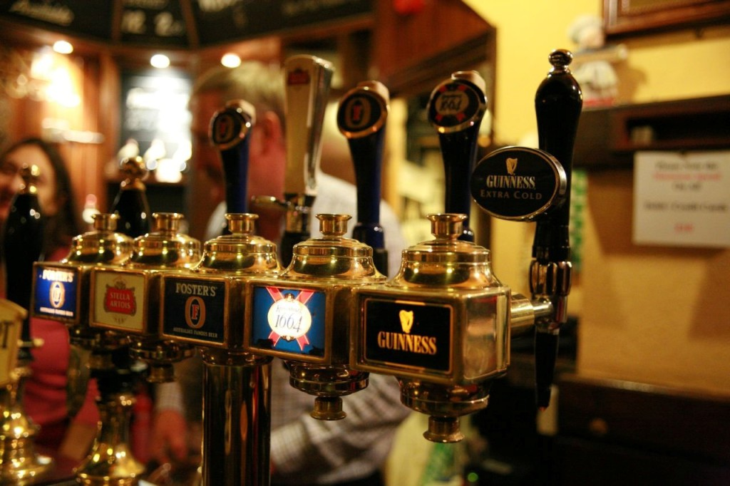 Beer Taps. Photo by Bruno Girin. https://www.flickr.com/photos/brunogirin/
