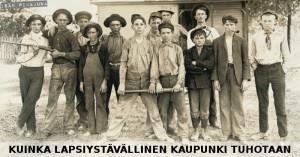 Ilmeisesti Oulun kaupunginjohtaja vihaa lapsia. Suurin valtuustoryhmä keskusta on vitsi.