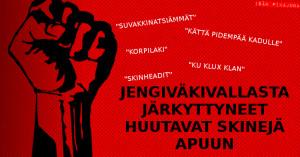 Helsingin jengiväkivallasta järkkyttyneimmät kelpuuttaisivat skinheadit apuvoimiksi