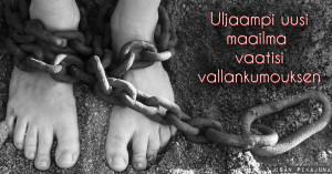 Vaadittaisiin arvojen vallankumous, jotta voitaisiin saavuttaa tasa-arvoinen maailma