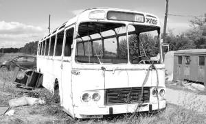 Jyväskylän liikenne ei pahoittele tapahtunutta. Kuvan bussi ei liity tapaukseen.