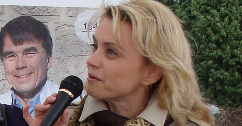 Päivi Räsänen - photo: Cropbot / Wikimedia Commons http://upload.wikimedia.org/wikipedia/commons/e/e9/P%C3%A4ivi_R%C3%A4s%C3%A4nen.jpg License: CC BY 2.0 http://creativecommons.org/licenses/by/2.0