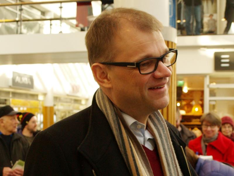 Keskustan puheenjohtaja Juha Sipilä aikoo leikata kotihoidontukea. Kuva: Santeri Viinamäki CC BY 4.0