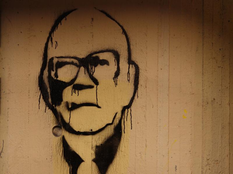 Kekkonen graffitissa. Kuva: Anneli Salo / CC BY-SA 3.0