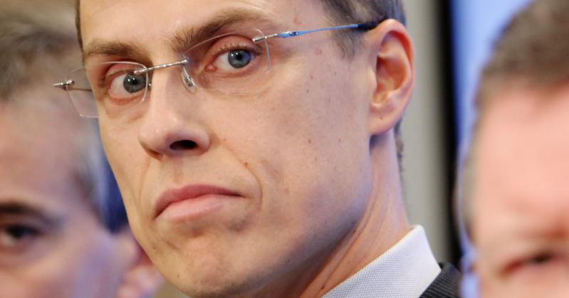 Alexander Stubb vuonna 2009. Kuva: Magnus Fröderberg. CC BY 2.5 DK.