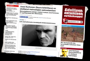 MV-lehti teki mustamaalausjutun Juha Kärkkäisen toimittaman aineiston pohjalta.