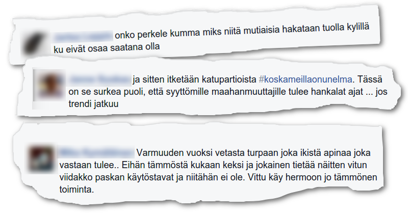 Oululaiset innostuivat kommentoimaan raiskaushuhua.