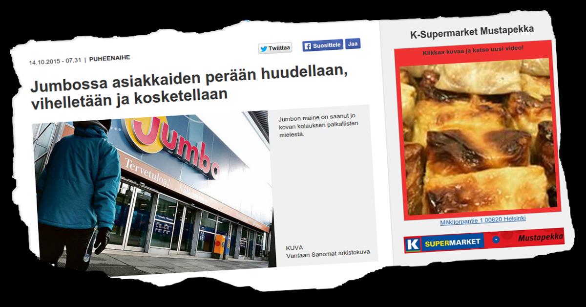 Helsingin Uutiset vajosi roskaan.