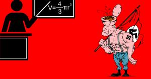 Kansallismielinen matematiikka on melkein tiedettä.