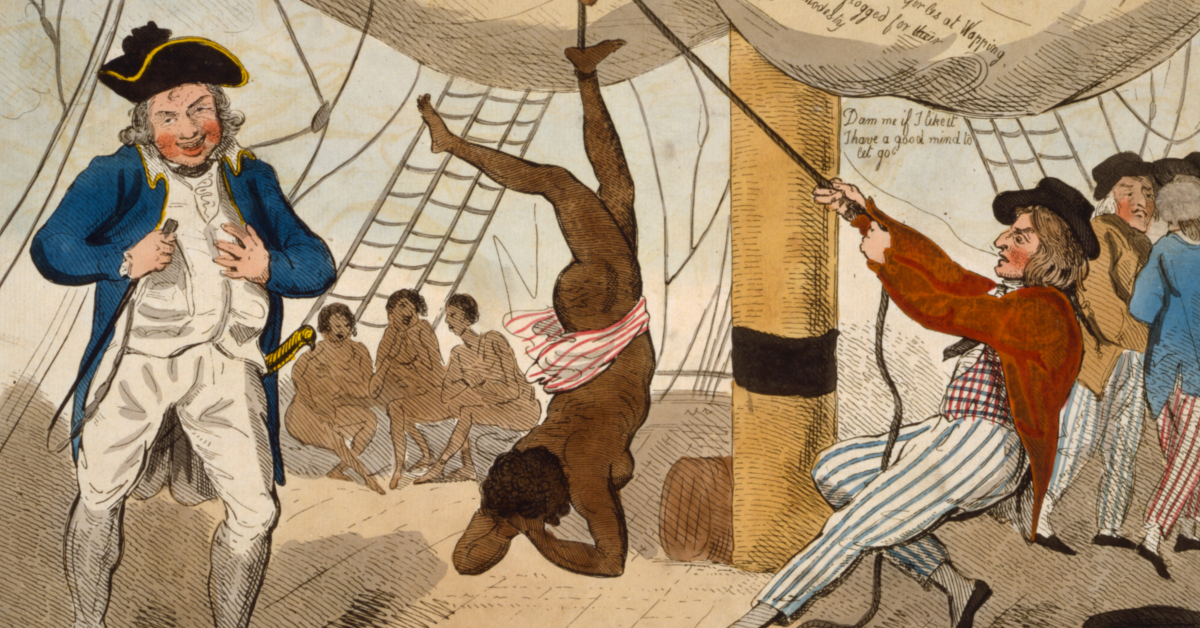 Kuva: rajaus alkuperäisestä. Alkuperäinen kuva: Isaac Cruikshank, 1792 / United States Library of Congress.