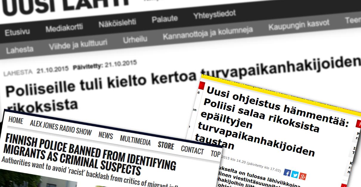 Uusi Lahti -lehden roskapuheet levisivät Yhdysvaltoihin saakka.