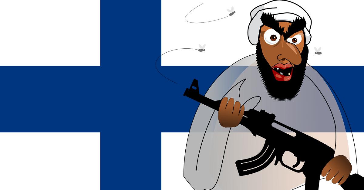 Työ- ja oikeusministeri Jari Lindström pelaa puheillaan terroristien pussiin.