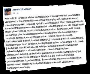 Suomen Sisun paikallisjohtaja väläyttää holokaustia.