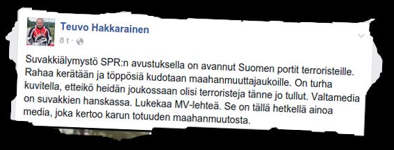 Teuvo Hakkarainen pitää vaihtoehtomedian välittämää kuvaa totuudesta valtamedian versiota luotettavampana.