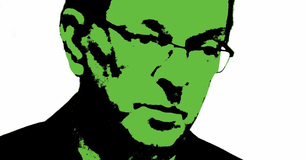 Paavo Väyrynen. Kuva: muokkaus alkuperäisestä. Alkuperäinen kuva: Soppakanuuna / Wikimedia Commons. CC BY-SA 3.0.