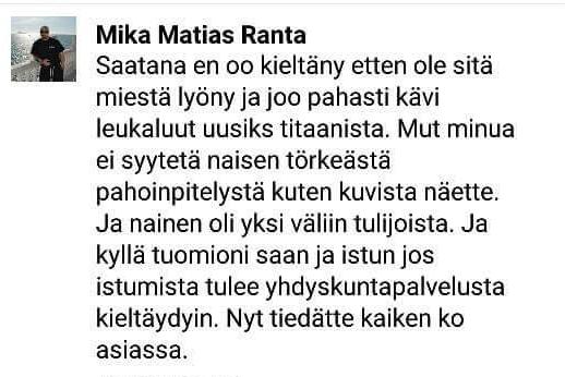 Soldiers of Odinin perustajajäsen myönsi vakavan väkivallan.