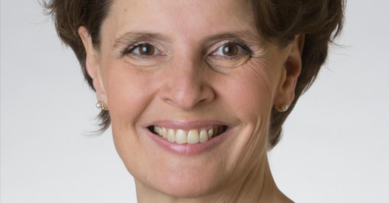 Liikenne- ja viestintäministeri Anne Berner (kesk). Kuva: Eduskunta.