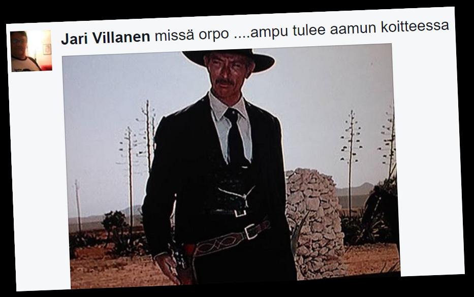 Sisäministeri Petteri Orpoa (kok) uhataan Rajat kiinni -Facebook-ryhmässä.