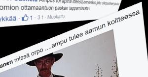 Rajat kiinni -kansanliikkeen Facebook-sivulla uhattiin poliisiylijohtajaa ja sisäministeriä.