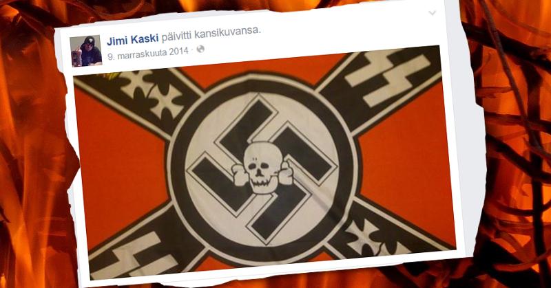 Petäjäveden epäonnistuneesta terrori-iskusta tuomittu Jimi Kaski vaihtoi vuonna 2014 Facebook-sivunsa kansikuvaa.