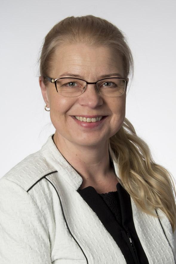 Kansanedustaja Leena Meri (ps). Kuva: Eduskunta.