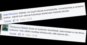 Tämä on ilmeisesti kansanedustaja Leena Meren (ps) mielestä huvittavaa.