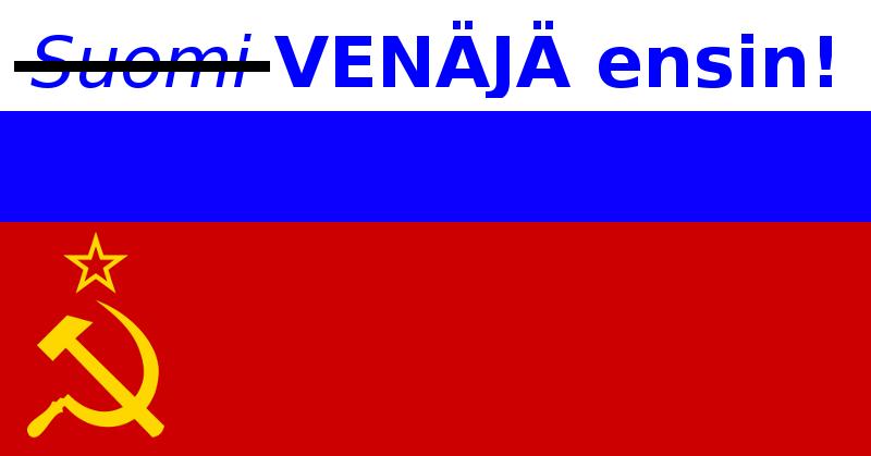 Venäjä ensin -liike lietsoi Forssassa.
