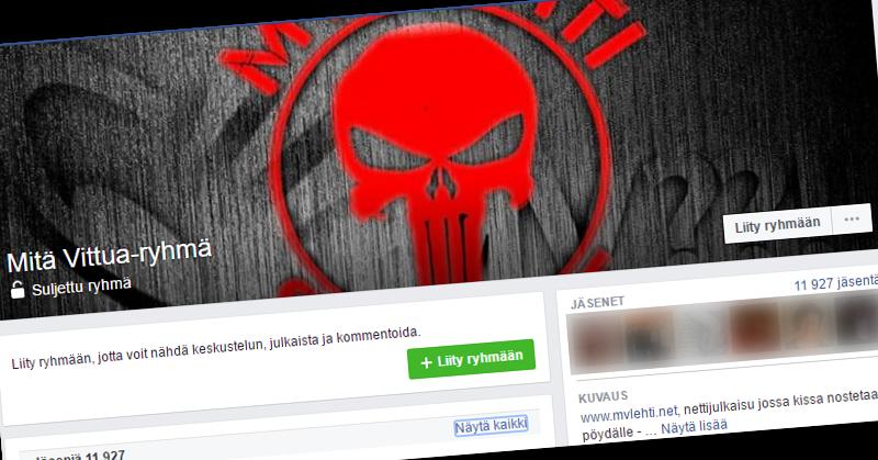 Ilja Janitskinin hallinnoi Facebookin Mitä Vittua-ryhmää.