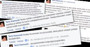 Terhi Kiemunki on osallistunut aktiivisesti MV-ryhmän keskusteluihin.
