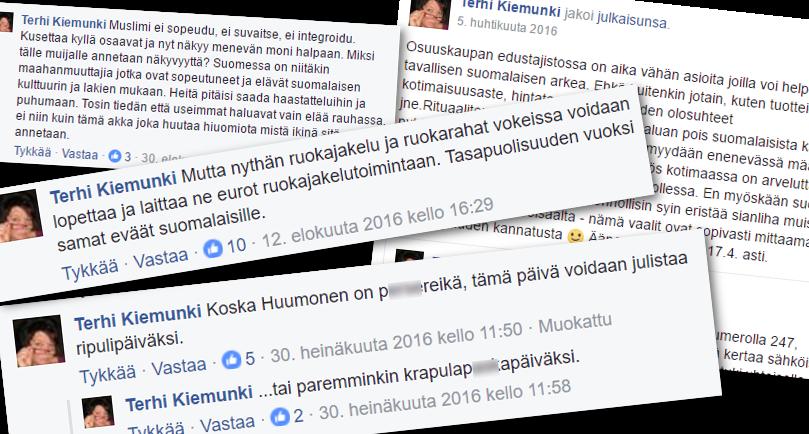 Terhi Kiemunkin on osallistunut aktiivisesti MV-ryhmän keskusteluihin.