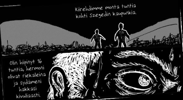 Teoksesta 24 päivää. Sami Nyyssölä ja Anssi Vieruaho.