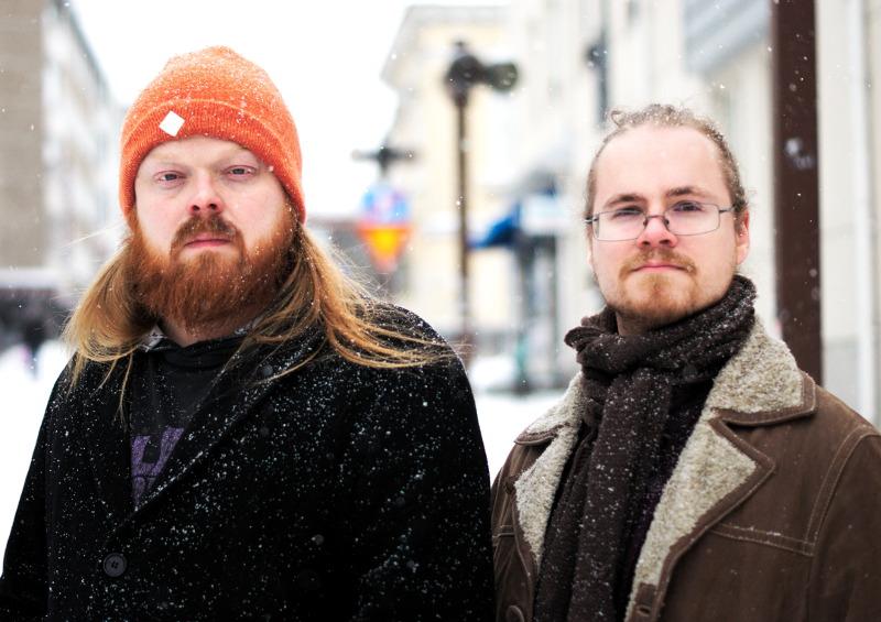 Anssi Vieruaho ja Sami Nyyssölä. Kuva: Jussi Korhonen.