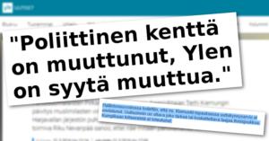 Ylen hallintoneuvostossa pyritään vaikuttamaan Ylen journalistisiin ratkaisuihin.
