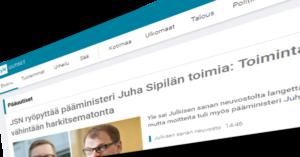 Yle uutisoi JSN:n päätöksestä.