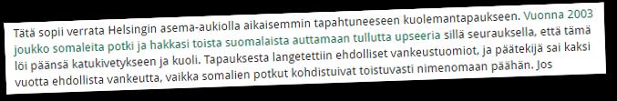 Uusnatsijärjestö Pohjoismaisen Vastarintaliikkeen versiossa oli joukko somaleita.