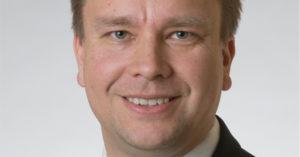 Kansanedustaja Antti Kaikkonen (kesk). Kuva: Eduskunta.