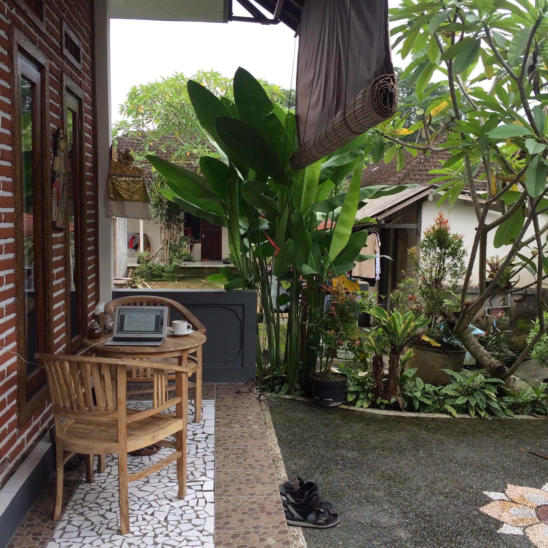 Bali on hyvä paikka toimistolle.
