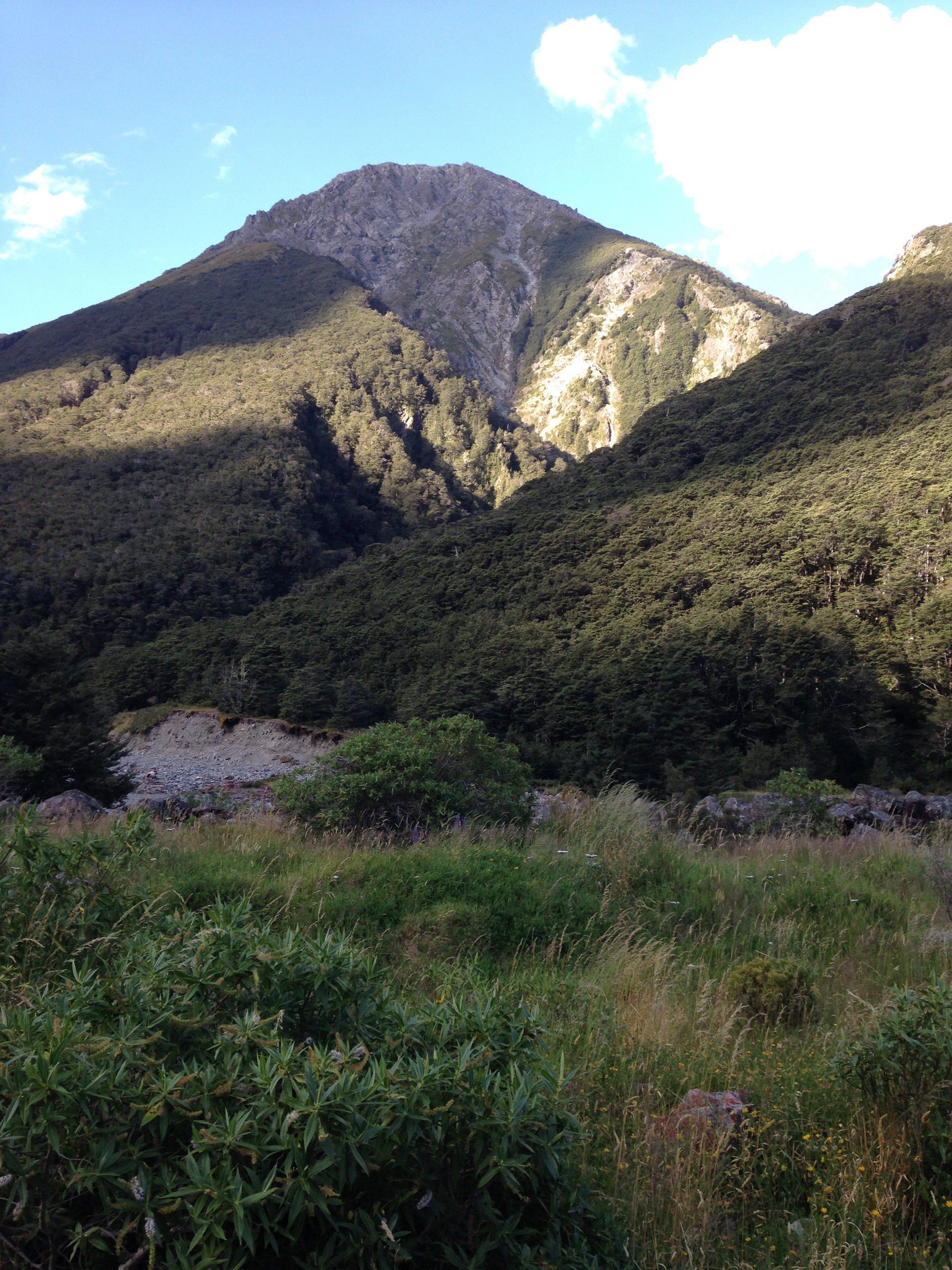 Uusi-Seelanti tarjoaa huimia maisemia.