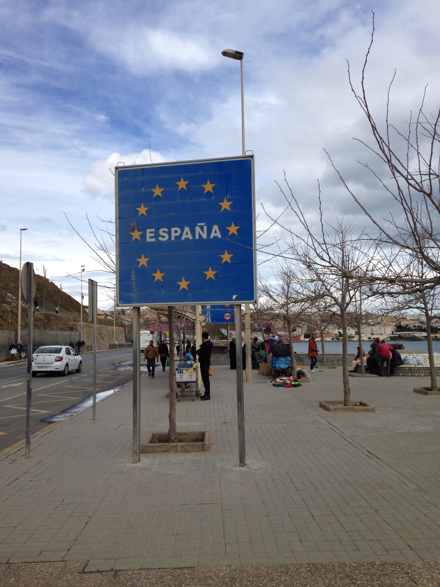 Eurooppa edessä.