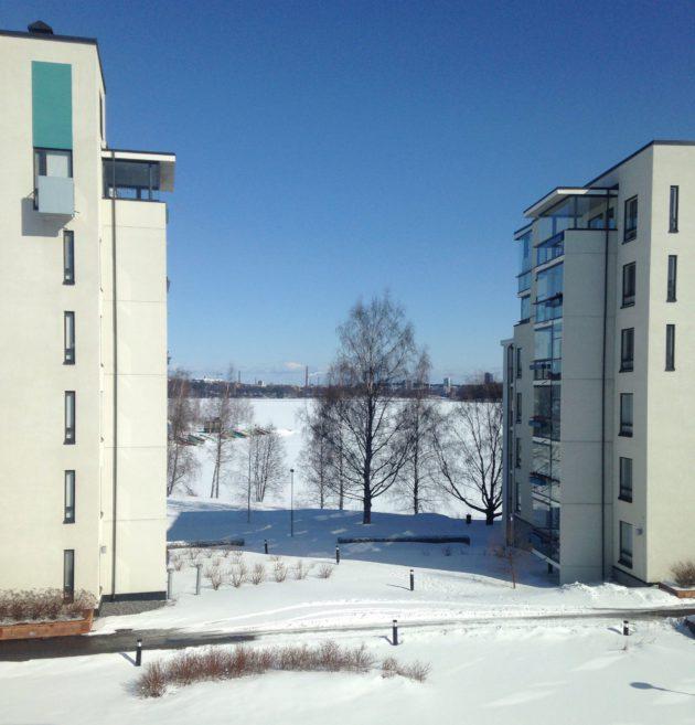 Pyhäjärvi on toinen Tampereen suurista järvistä. (IL)