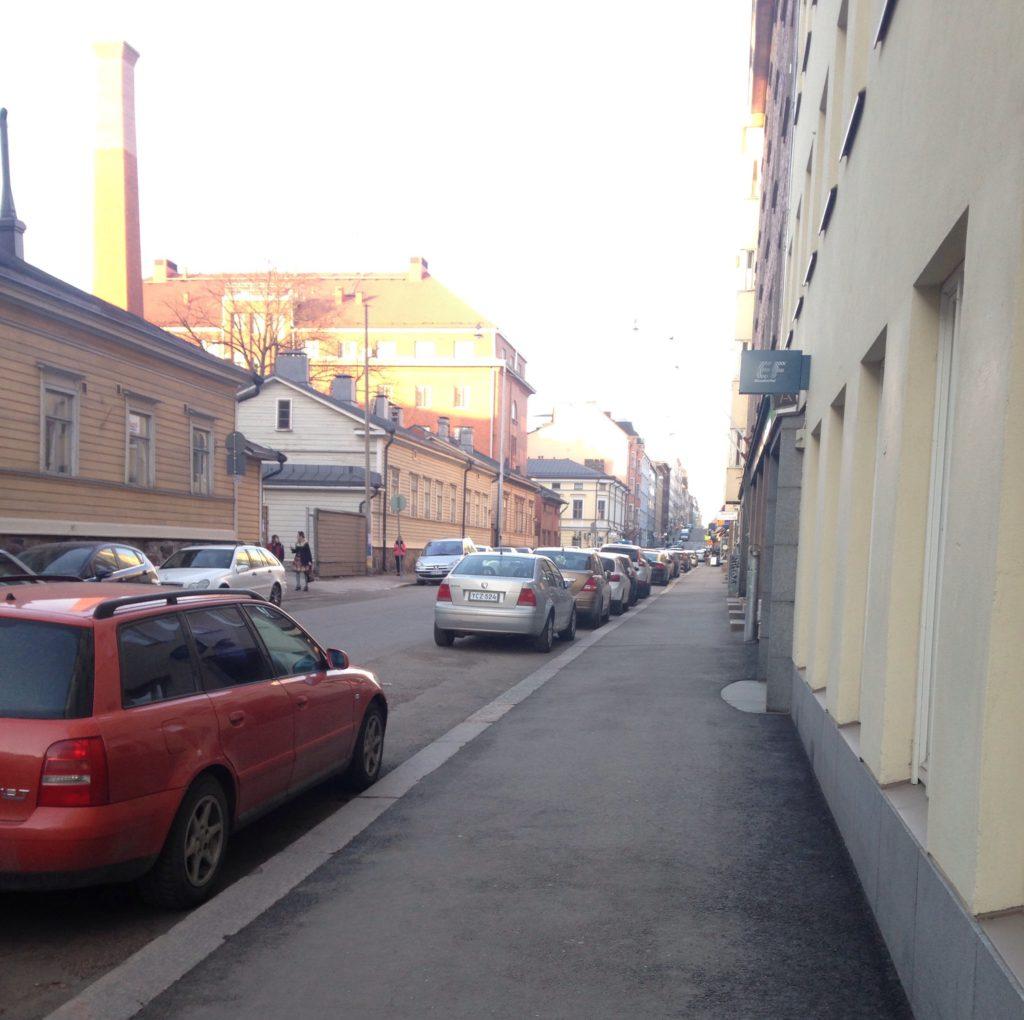 Kotikatumme Helsingissä.