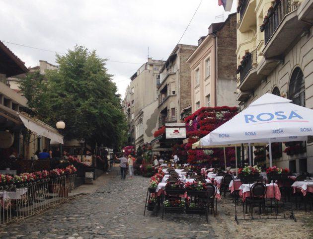 Skadarska on Belgradin Pigalle. (IL)