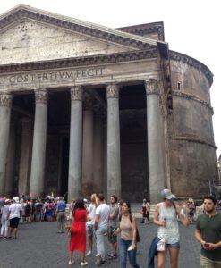 Pantheonin jonot.