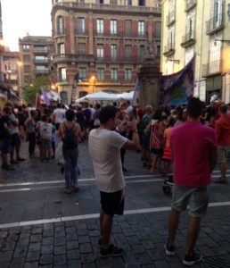 Pamplona on tunnettu fiestoistaan,