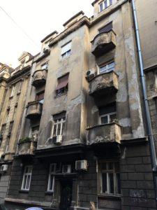 Belgradissa on rähjäistä romantiikkaa.