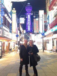 Lähtee raiteelta kaksi sai alkunsa Osakassa.