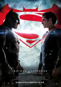 Batman v Superman: Dawn of Justice -elokuvan virallinen elokuvajuliste