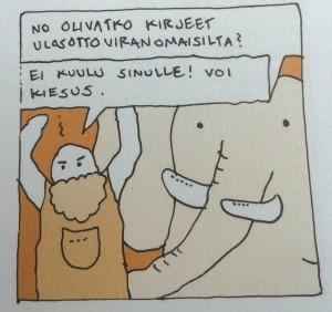 Ilpo ja norsu.