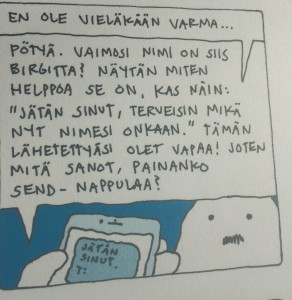 Hans ja lastentarvikemyymälän kaveri.