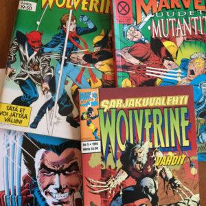 Suomalaisia Wolverine-sarjakuvia